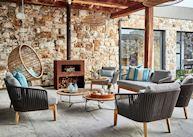 Morukuru Beach Lodge, courtyard seating