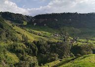 View from Hacienda Termales La Quinta