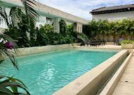 The pool at Hotel Estelar, Yopal