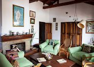 Sitting room at Macushla House