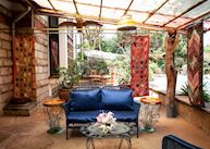 Sun porch at Macushla House