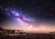 Night sky at Sossusvlei Desert Lodge