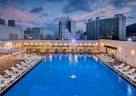 Outdoor pool at Busan Lotte Hotel, Busan