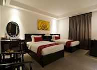Deluxe Twin Room at La Rose Boutique