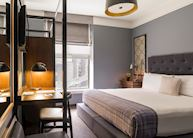 Guestroom with King bed, The Boxer Hotel, Boston