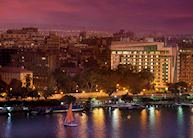 View from Kempinski Nile Hotel, Cairo
