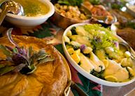 Lunch buffet at Echo Valley Ranch & Spa