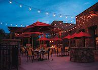 Gateway Canyons Resort restaurant terrace