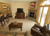 Bear Creek Lodge condominium sitting room