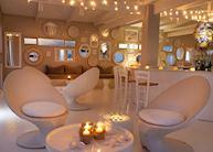 The bar at White Pearl Resort, Ponta Mamoli