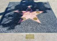 Start of the Hollywood Walk of Fame, LA California