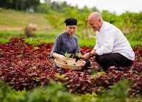 Organic Garden, Four Seasons Resort The Nam Hai, Hoi An