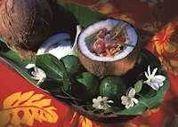 Delicious cuisine, InterContinental Resort, Tahiti