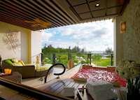 Balcony, Ocean Wing Premier Room, Shangri-La's Rasa Ria Resort & Spa, Kota Kinabalu