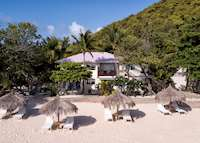 Seagrape Suite Exterior, Palm Island Resort & Spa, Palm Island
