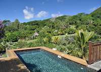 Garden pool suite, Lakaz Chamarel, Mauritius West Coast