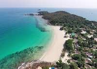 Aerial View, Paradee Resort, Koh Samet