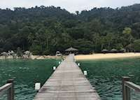 Harbour to JapaMala Resort, Tioman Island