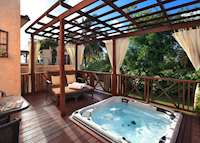 Garden Junior Suite with Whirlpool, Little Arches Boutique Hotel, Barbados