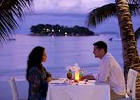 Romantic dinner at Paradise Sun, Praslin