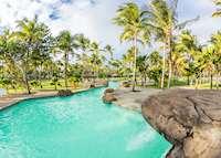 Pool area, Palm Island Resort & Spa, Palm Island