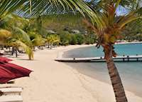Beach, The Inn at English Harbour, Antigua