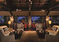 Coral Grill Restaurant, Four Seasons Resort Nevis, Nevis