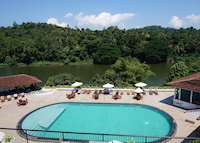 The pool at Cinnamon Citadel