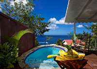 Private Plunge Pool, Ti Kaye Resort & Spa, Saint Lucia