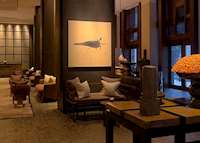 The lobby at the Setai, Miami