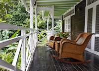 Cottage Balcony, Fond Doux Plantation & Resort, Saint Lucia