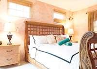 Cherry Villa Master Bedroom, Maca Bana Luxury Boutique Resort, Grenada