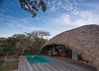 Cabin exterior, Chena Huts , Yala National Park