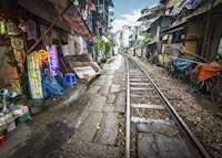 Railway market, Hanoi