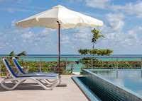 Pool, Acajou Beach Resort, Praslin