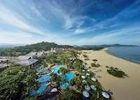 Aerial View, Shangri-La's Rasa Ria Resort & Spa, Kota Kinabalu