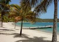 Beach, Inn at English Harbour, Antigua and Barbuda