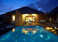 Water Bungalow Pool