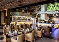 Restaurant, Paradise Sun, Praslin