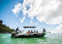 Scuba diving, Paradise Sun, Praslin