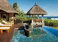 Double Suite Villa Pool Terrace, Shanti Maurice, Mauritius
