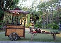 Afternoon Tea, Tugu Lombok, Sire Beach