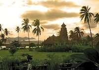 Hening Swarga Temple, Tugu Lombok, Sire Beach