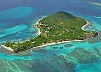 Aerial View, Petit St. Vincent, Petit St Vincent
