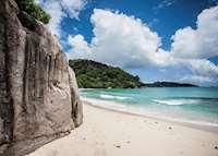 Beach, Maia Resort & Spa, Mahe