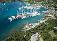 Aerial View, South Point Antigua, Antigua
