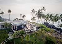 Aerial View of Il Mare Restaurant, Anantara Peace Haven Resort & Spa , Tangalle