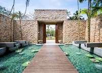 Anantara Spa Entrance, Anantara Peace Haven Resort & Spa , Tangalle