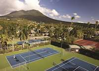 Tennis Courts, Four Seasons Resort Nevis, Nevis