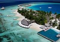 Aerial View, Huvafen Fushi , Maldive Island